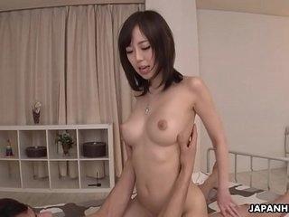 Japanese gal, Shiori Yamate had corner 69, uncensored