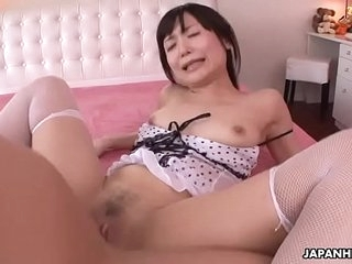 Japanese honey, Tsukushi got fucked very hard with the addition of creampied, uncensored