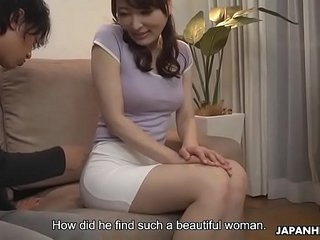 Japanese housewife, Noeru Mitsushima was creature a autocratic slut, uncensored