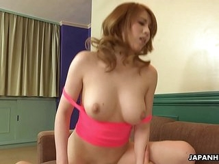 Japanese honey, Maki Koizumi fucks a friend, uncensored