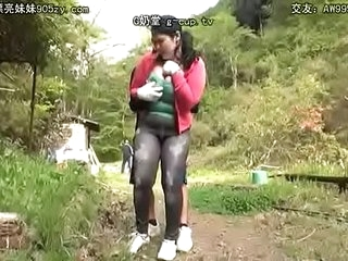 fuck japanese woman outdoors