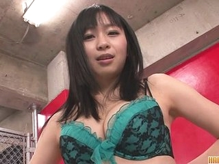 Nozomi hot bush-leaguer japanese chick masturbates