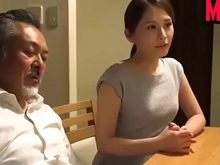 Japanese wife big Daddy with husband join up
