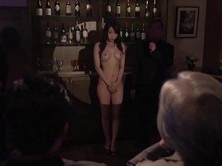 Subtitled Japanese Kurea Hasumi wife slave auction freebooting