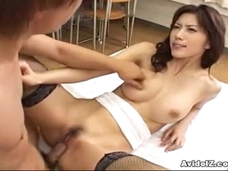 Hot Japanese babe fucked mercilessly