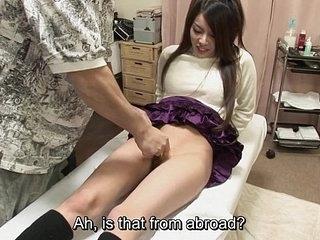 Uncensored bizarre Japanese pubic shaving sitting-room Subtitled