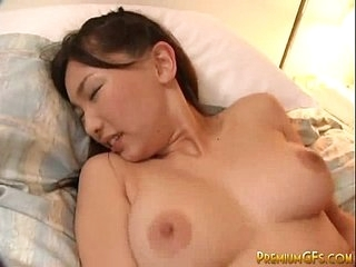 Busty Japanese Cutie Gets Banged Together with Jizzed Exceeding