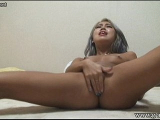 Japanese Babe MIRANO Suntan Masturbation