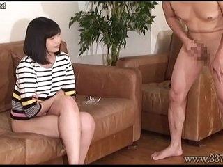 Japanese Femdom CFNM Slave Masochist Husband