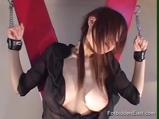 Japanese Geisha hither Hardcore BDSM