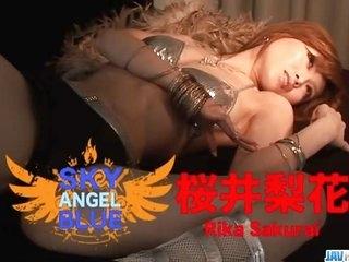 Cock sucking Rika Sakurai gets busy with - More at javhd.net