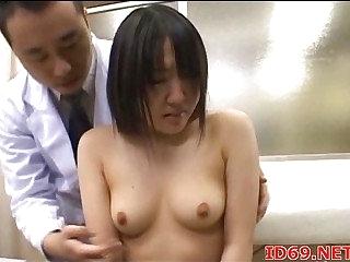 Japanese AV Parcel out sucking cock