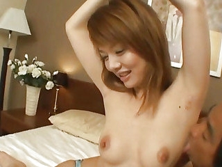 Japanese milf subdued and fucked