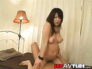 Cutie japanese dame gets facial