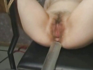 Japanese menial gets pussy brim off out of one's mind cum