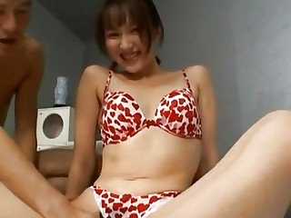 Japanese milf fucked about hairy slit a lot