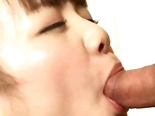 Japanese nurse slut sucks horny doctor cock