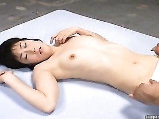 Shinobu Kasagi Cute Japanese doll in the matter of bukkake