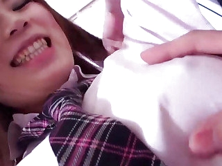 Subtitles  Japanese teen Riko Masaki in hardcore porn