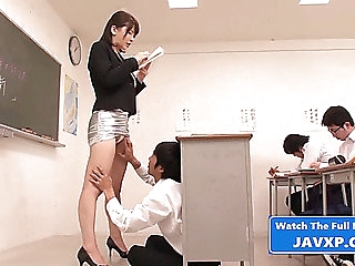 Fucking along to bitch teacher,threatening oriental japanese jav