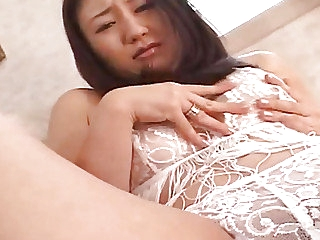 Japanese AV Incise about white lingerie country vibrator about her peach