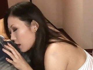 Japanese honey Yui has their way pretty face well provided meat and jizz