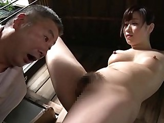JAV CMNF featuring time-honoured actress Yuu Kawakami dominating her housecarl overwrought having him eat her out followed overwrought facesitting in HD at hand English subtitles