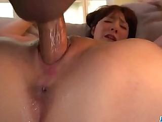 Hot japan girl Airi Miyazaki get a cock in tight whore