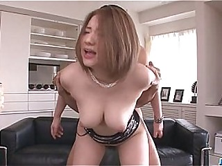 Alice Ozawa gives a japan blowjob and fucks several guys