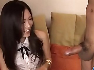 Shocking oral by stunning Japanese Yui Komine - More at JavHD.net