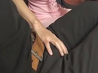 Grotesque porn show with sleazy Japanese doll, Konoha