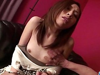 Small tits Karen enjoys toys deep in each of her holes