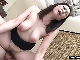 Asian become man got the brush hairy pussy drilled after a 69