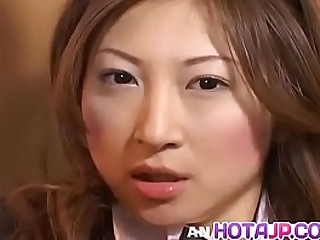 Hot japan girl Chihiro Hara conduct oneself with pussy