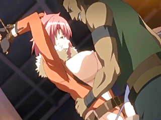 Enslavement Japanese hentai brutally dripping wetpussy fucked by ghetto anime