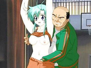 Japanese basketball coach hentai fingering pussy with the addition of exigencies breast