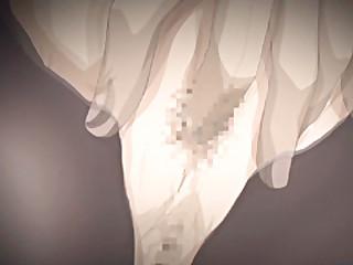 Japanese hentai fingered ass