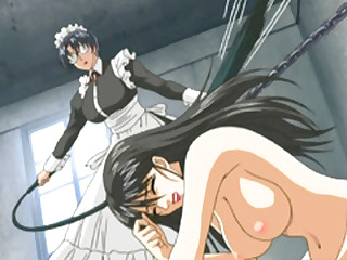 Japanese hentai chained and whipped