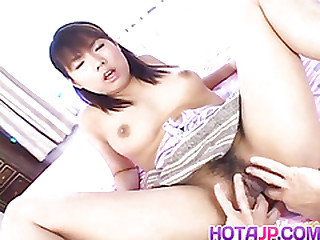 Japanese AV Model has nipples pinched coupled with soft crack screwed