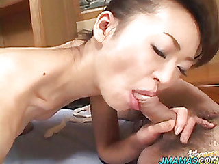 Japanese of age is fucked approximately vibrator