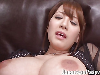 Sexy Japanese skank loves having say no to special place toyed