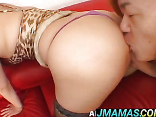 Tramontane Model gets cum on big ass
