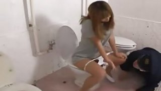 porn movies Japanese Suffocating Women's Prison part 6 Face-Sit the Guard