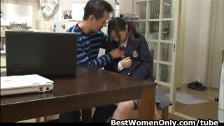 Japanese Tutor Fucks Home School Girl Added to Her Matriarch