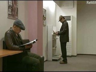 Crazy Jap mature Milf dealings seduction in put emphasize cinema