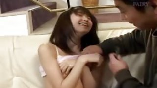 Hairy japanese cunt and dado fingering