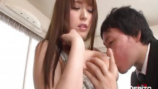 Japanese babe Yuino loves anent suck on bfs bigwig dick