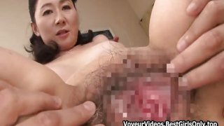 Enticing Cougar Japanese Asian Fucks Liberally Home