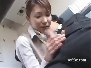 Room service blowjob on Train -01