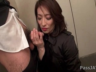 Grown up lady Marina Matsumoto goes nasty up ahead office